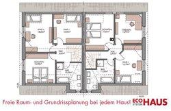 Duo Friesenhaus 130 - Grundriss Dachgeschoss