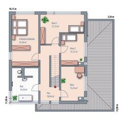 ES 284: 1. Obergeschoss