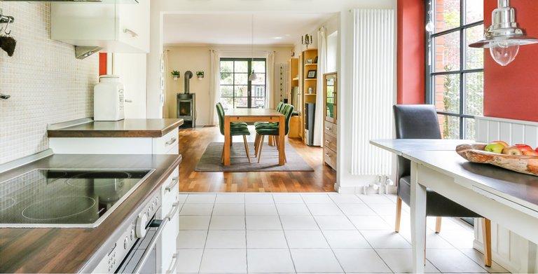 Giebelhaus 170 - Küche und Essbereich Copyright: