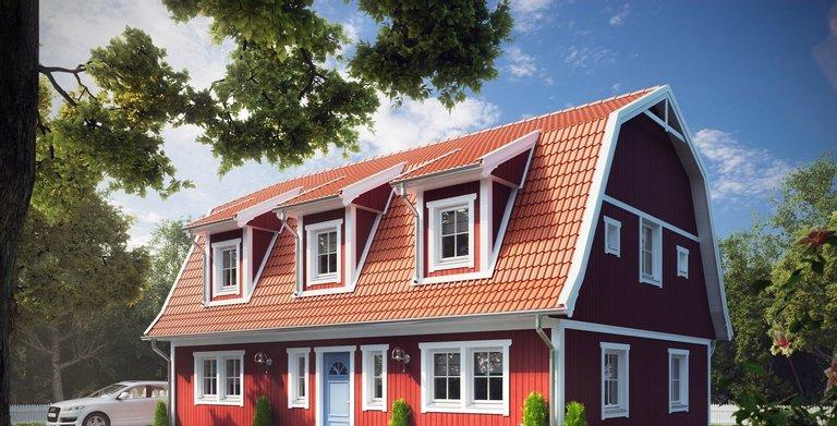 Villa Lucas Lindberg von ALADOMO Schwedenhaus GmbH & Co. KG