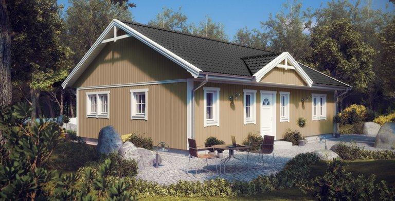 Villa Pia Lindberg von ALADOMO Schwedenhaus GmbH & Co. KG