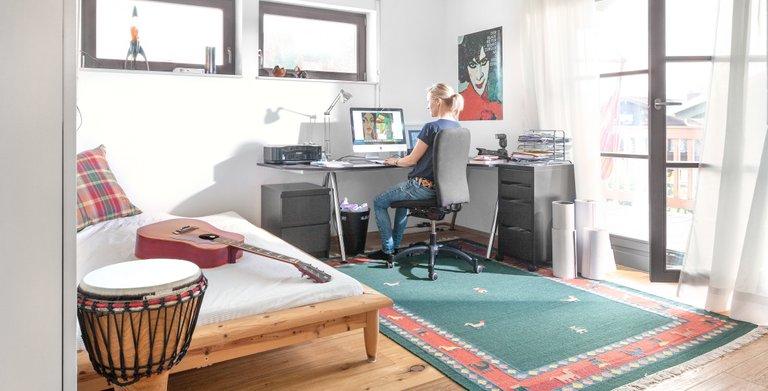 Arbeitszimmer Copyright: SchwörerHaus KG