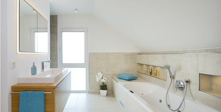 Musterhaus Life Oberrot - Badezimmer