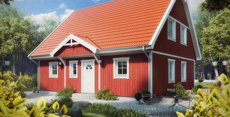 Villa Hanna Knudsen von ALADOMO Schwedenhaus GmbH & Co. KG