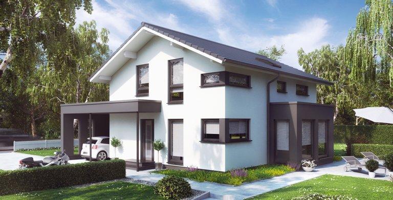 SUNSHINE 143 Mülheim-Kärlich von Living Fertighaus GmbH