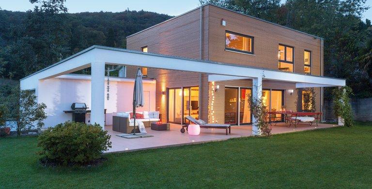 Mediterrane Villa Plan E 20-176.2 von SchwörerHaus KG