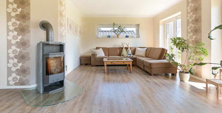Winkelbungalow 140 - Wohnzimmer Copyright: