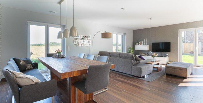 Mehrgenerationenhaus (Stadtvilla 220) - Wohn- und Essbereich Copyright:
