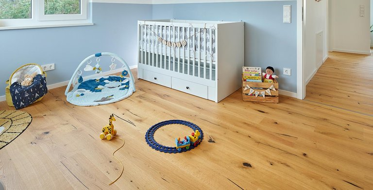 Kinderzimmer | LUXHAUS Walmdach 160 Copyright: