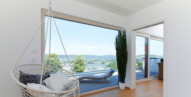 Die Dachterrasse lädt zum Sonnenbad ein Copyright: