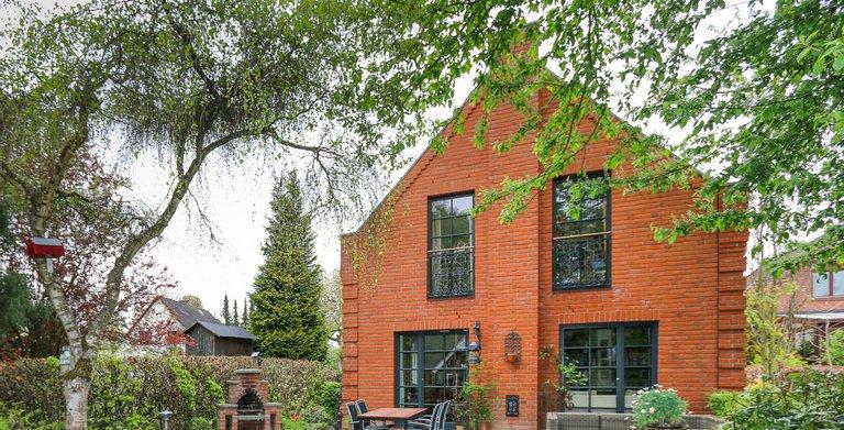 Giebelhaus 170 - Blick auf die Terrasse Copyright: