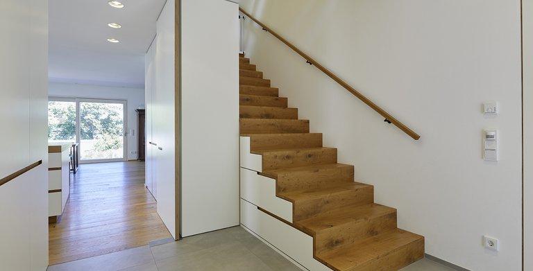 Edel gestaltet wurde auch der Treppenaufgang Copyright: