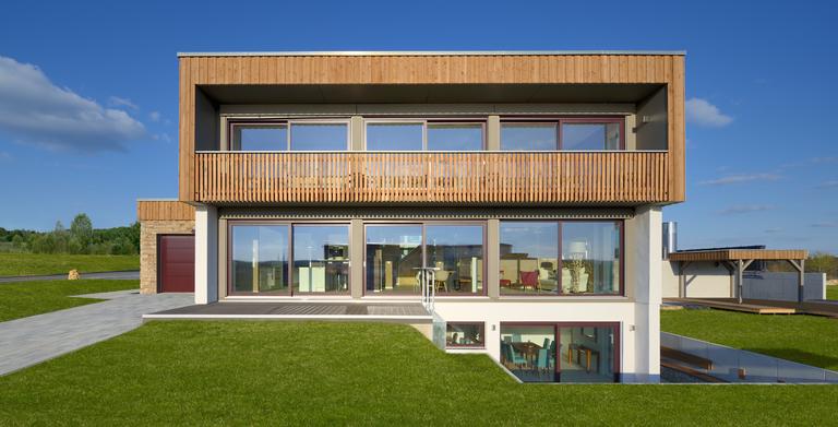 Vorschaubild Flachdachhaus KUBOS Waldhausen