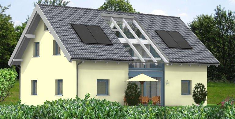 Planungsbeispiel Einfamilienhaus 158H15 von Bio-Solar-Haus