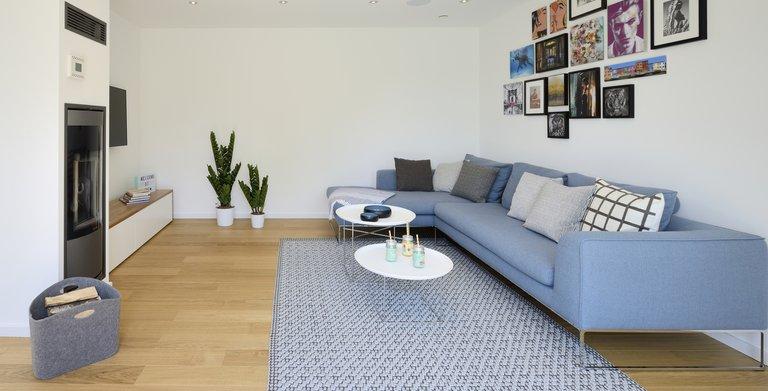 Musterhaus Life Oberrot - Wohnzimmer