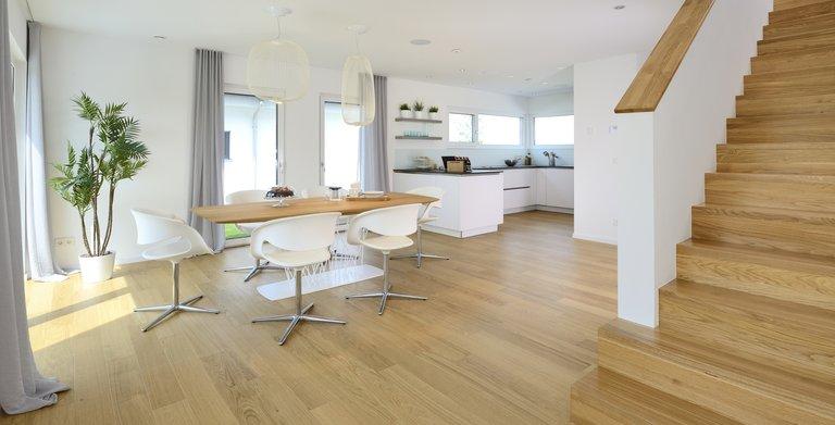 Musterhaus Life Oberrot - Esszimmer und Küche
