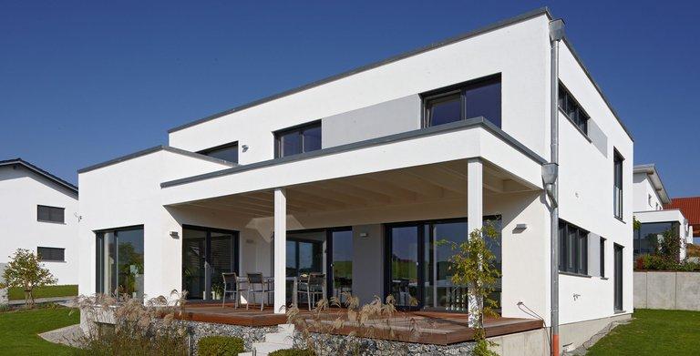 Felderer / Aussenansicht Sonnleitner Holzbauwerke Copyright: