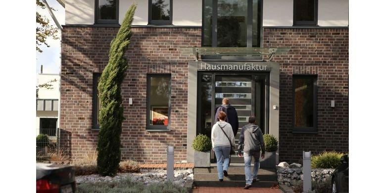 An zwei bis drei Tagen stellen die GUSSEK-Bauherren Ihr Traumhaus in der GUSSEK-Hausmanufaktur zusammen.