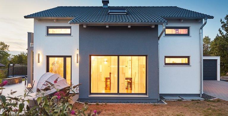 Kundenhaus Satteldach Landhaus 143 Copyright: