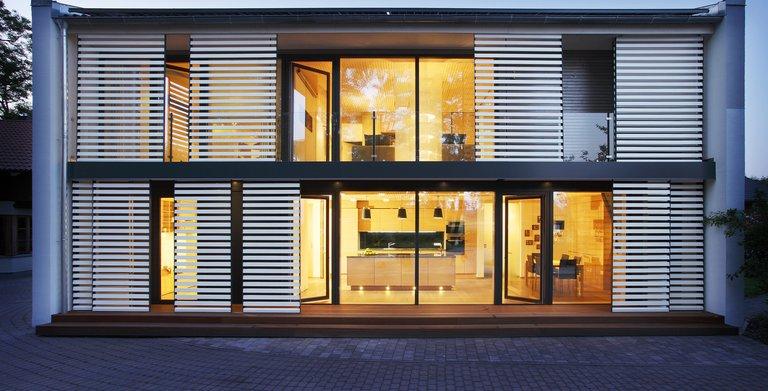 Functionality-Haus / Aussenansicht Sonnleitner Holzbauwerke Copyright: