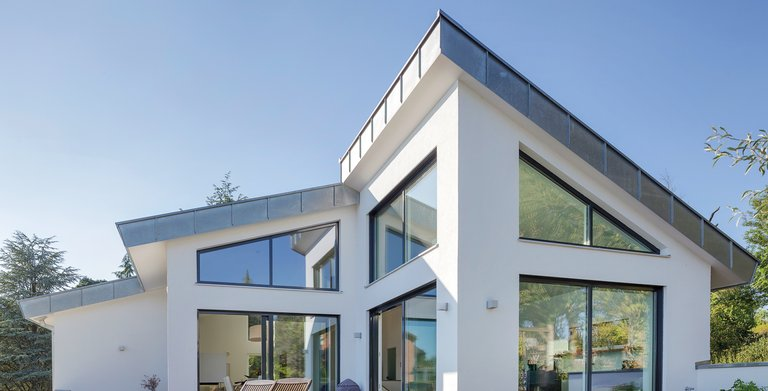 Kundenhaus Satteldach Landhaus 290 Copyright:
